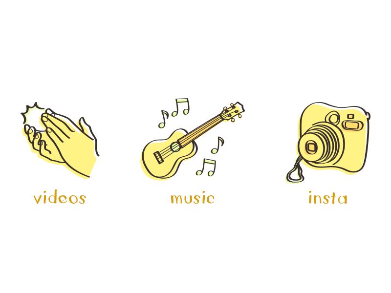 Dodie Conceptual Icons by Sierra Kellermeyer on Dribbble.