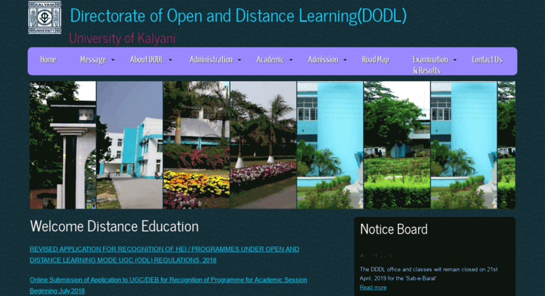 Access dodl.klyuniv.ac.in. Directorate of Open and Distance Learning.