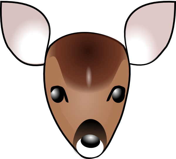 Deer Head Clip Art at Clker.com.