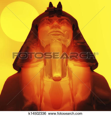 Stock Illustration of Tut ench amun k14502336.