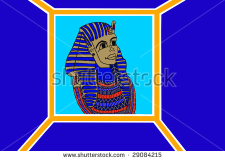 King Tut Stock Photos, Royalty.