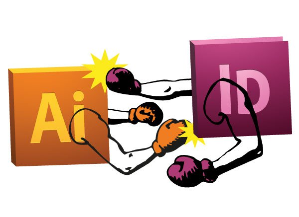 What is the difference between Adobe InDesign and Adobe Illustrator?.