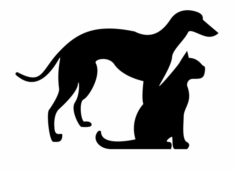 Dog And Cat Silhouette Png Free PNG Images & Clipart Download.