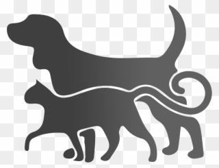 Free PNG Dog Cat Silhouette Clip Art Clip Art Download.