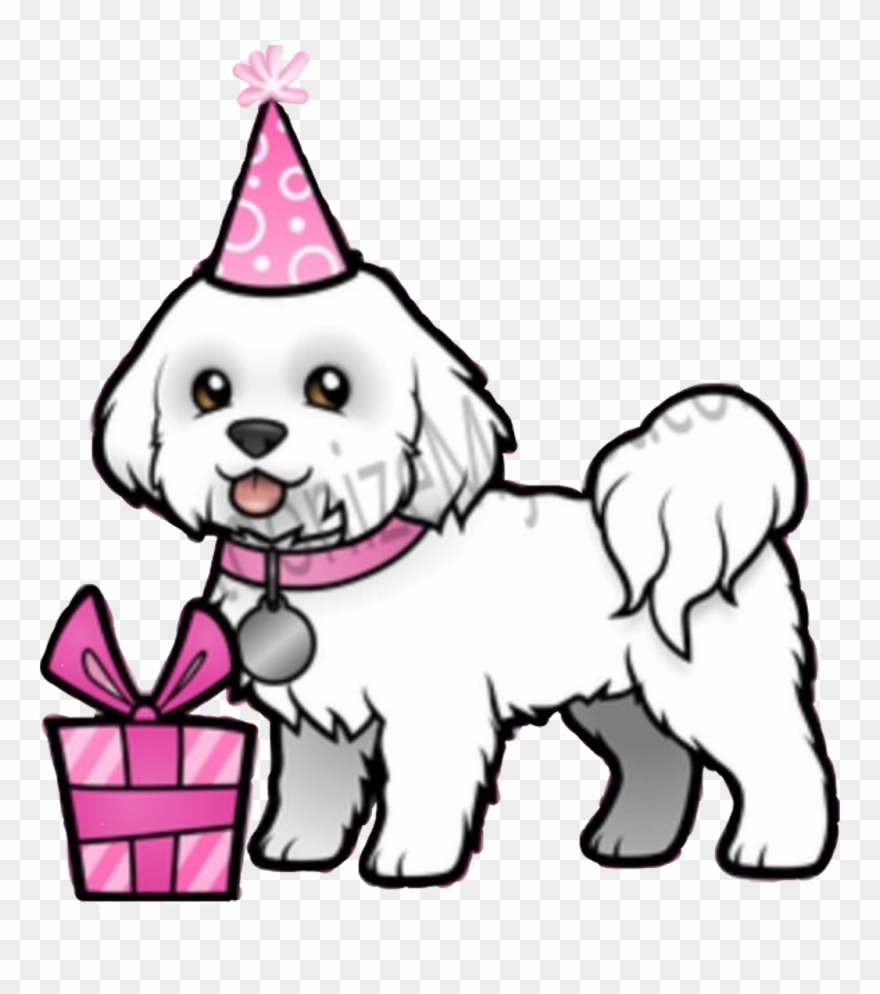 Dog Birthday Clip Art.