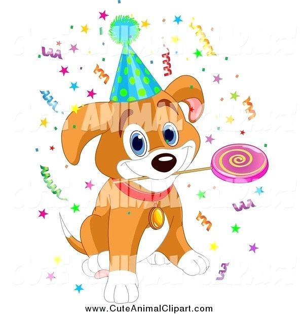 dog birthday clipart.