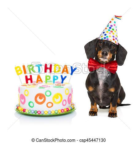 Dog birthday clipart 3 » Clipart Station.