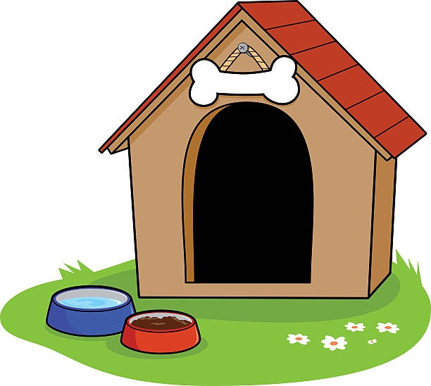 595 Dog House free clipart.