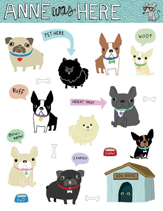 1000+ images about Dogs illustration on Pinterest.