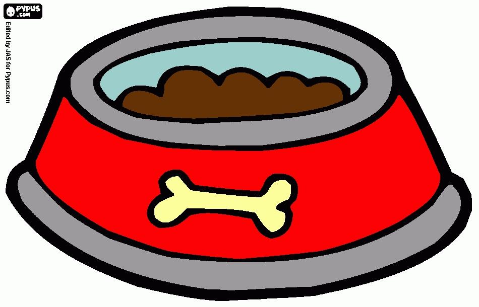 Dog Bowl Clipart