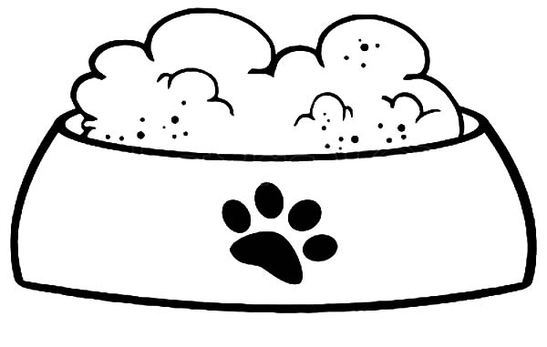 Dog bowl bowl clipart dog food pencil and in color bowl.