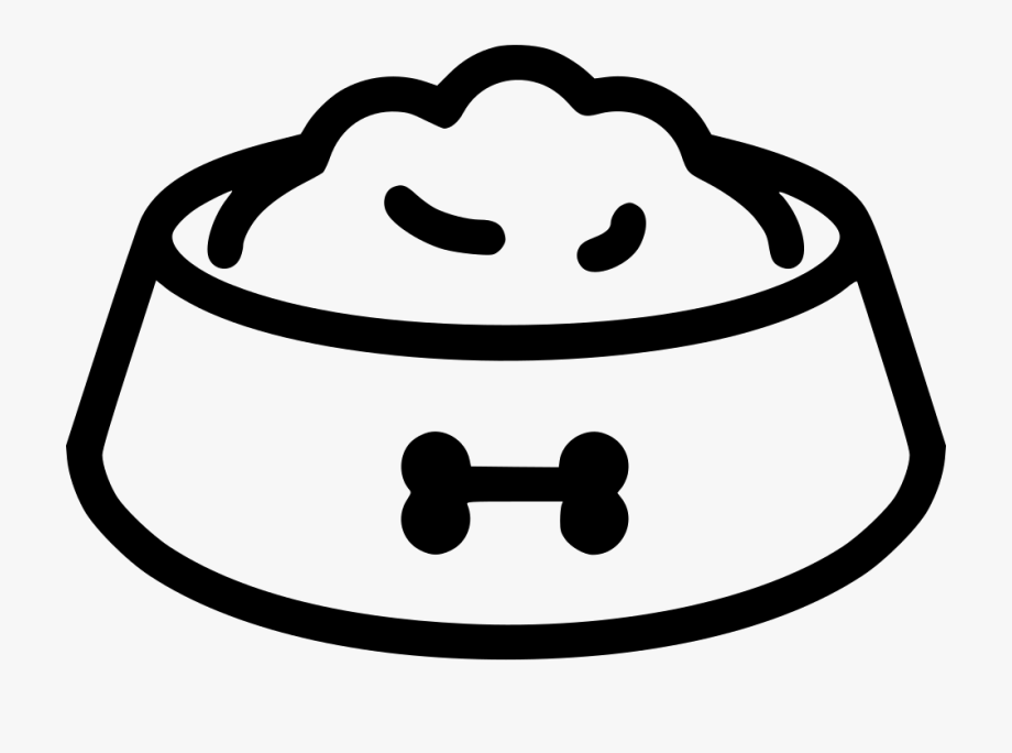 Dog Bowl Icon Png , Transparent Cartoon, Free Cliparts.