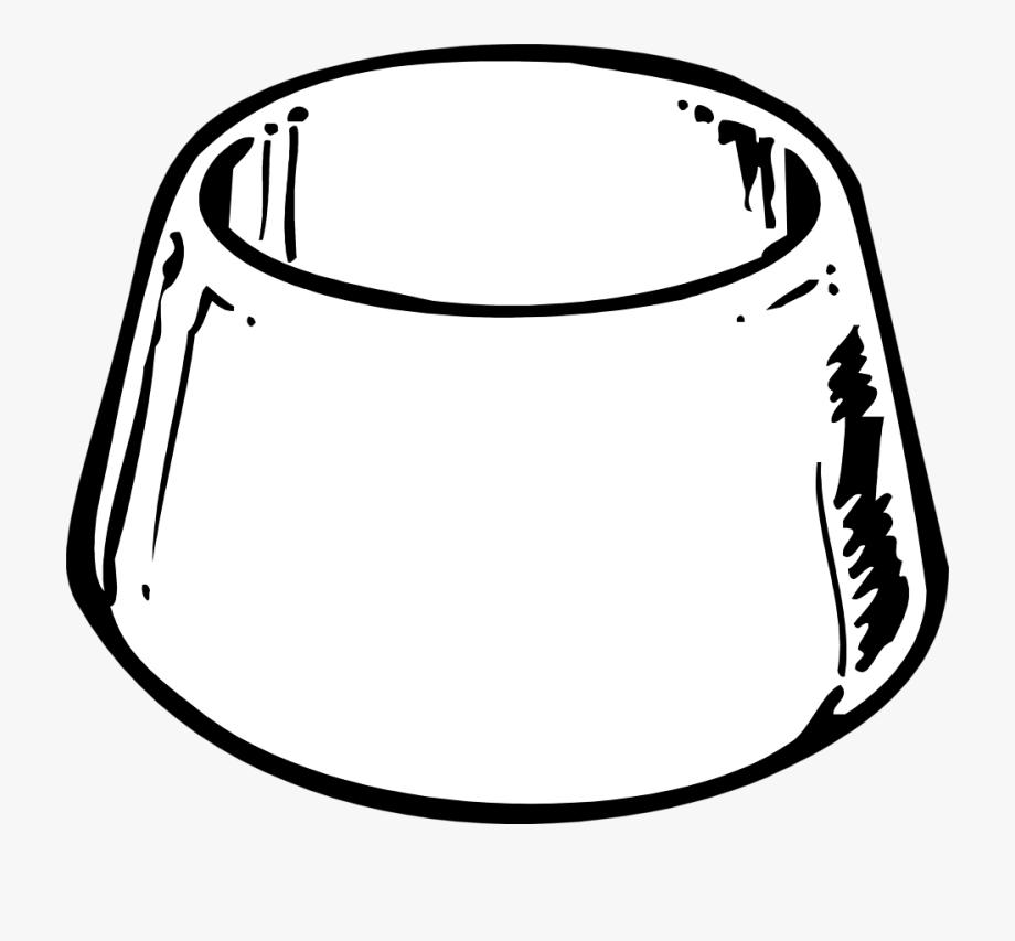 Clip Art Cat Bowl Clipart.