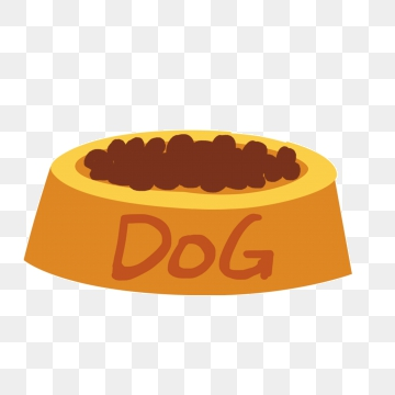 Dog Food Bowl PNG Images.