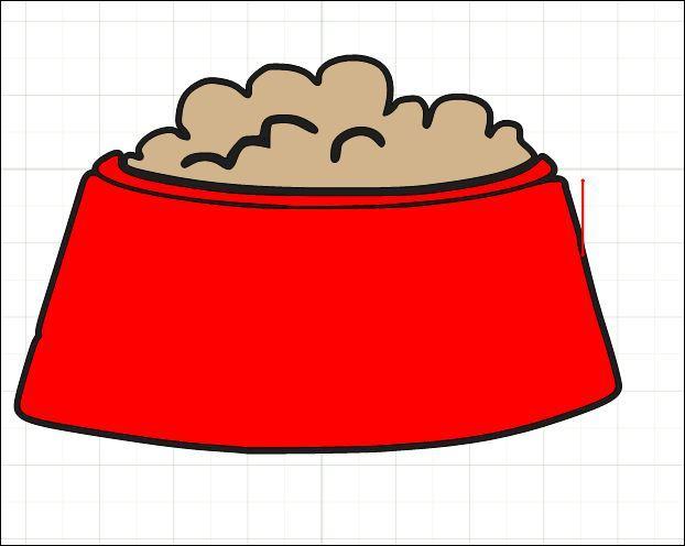 Dog bowls clipart » Clipart Portal.