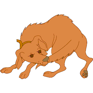 Dog Chasing Tail clipart, cliparts of Dog Chasing Tail free.