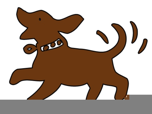 Clipart Dogs Wagging Tails.