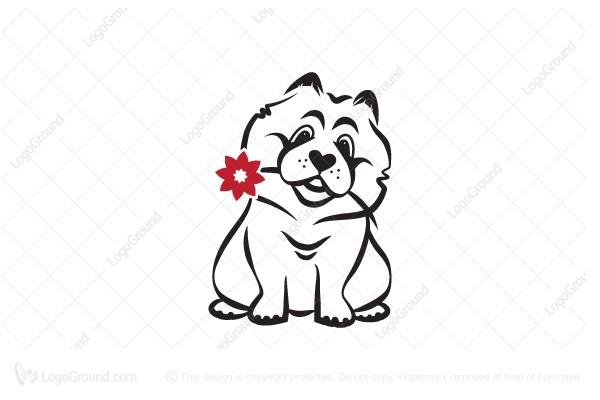 Exclusive Logo 152315, Chow Chow Logo.