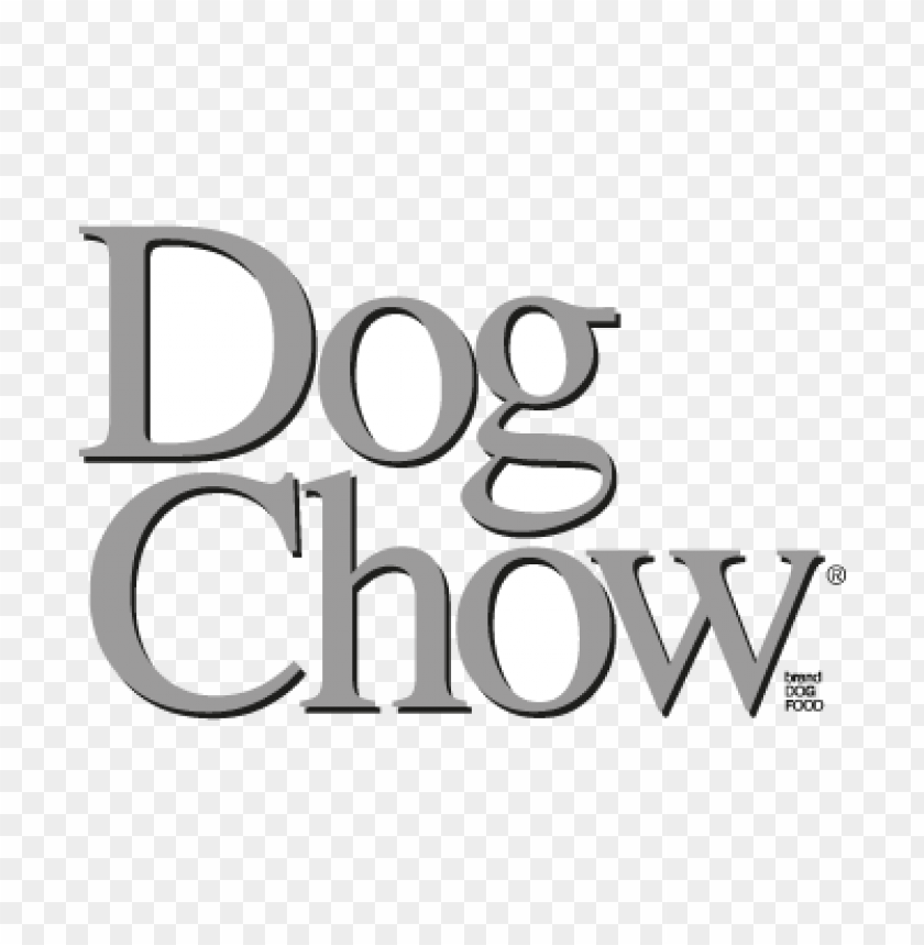 dog chow vector logo free download.