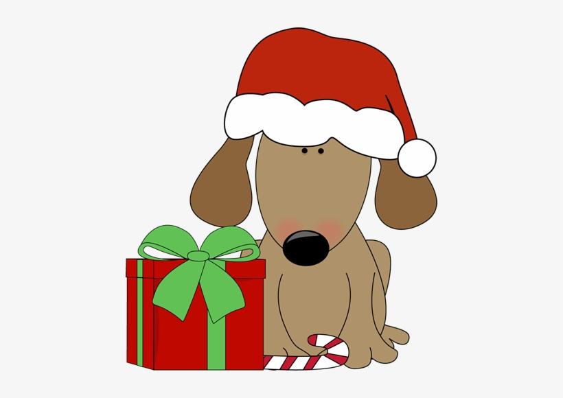Christmas Dog Clipart.