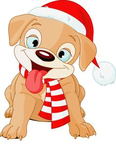 538 Best Christmas dog clipart images in 2019.