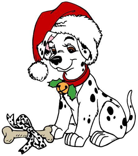 Dog christmas clipart clipart images gallery for free download.