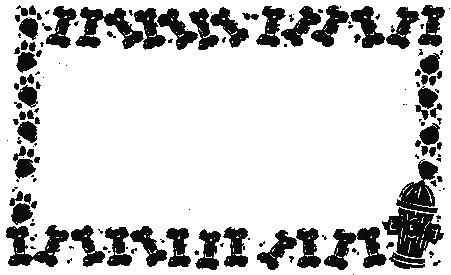 Free Dog Borders, Download Free Clip Art, Free Clip Art on.