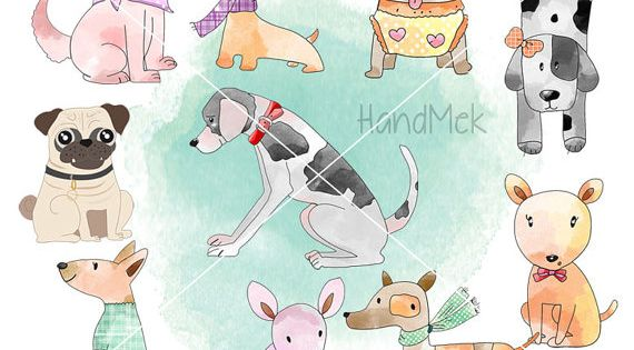 Dog Clipart Puppy Clipartanimal clipart PNG file.