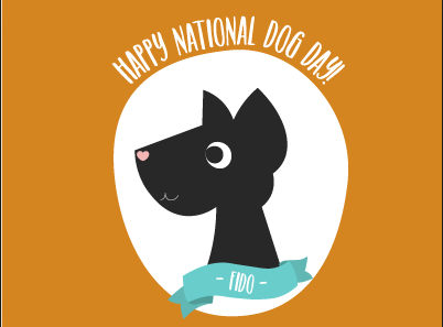 Top 70 National Dog Day Clip Art, Vector Graphics.