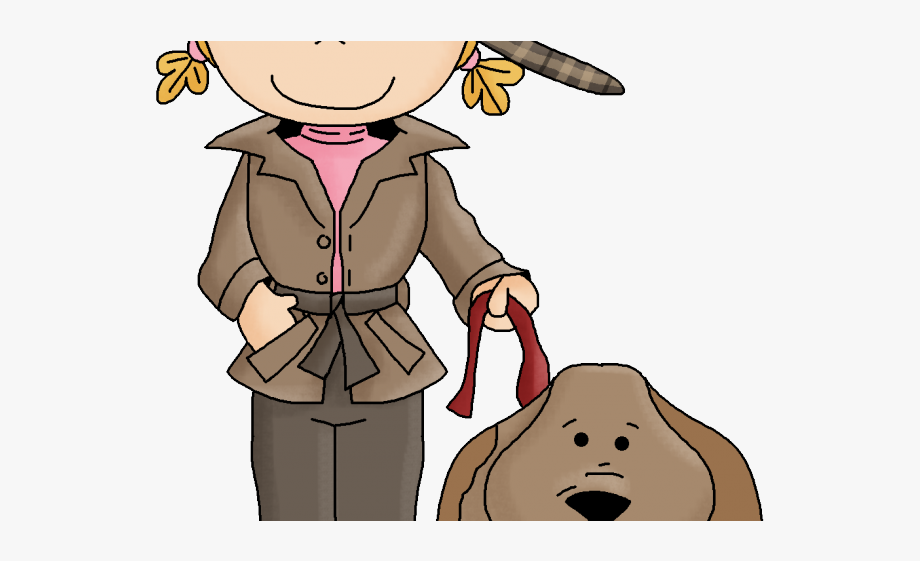 Sherlock Holmes Clipart Female Investigator.