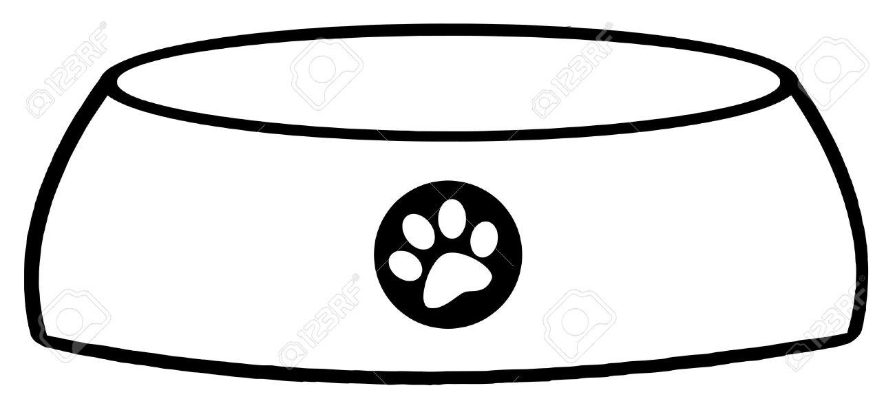 Dog bowls clipart 4 » Clipart Station.