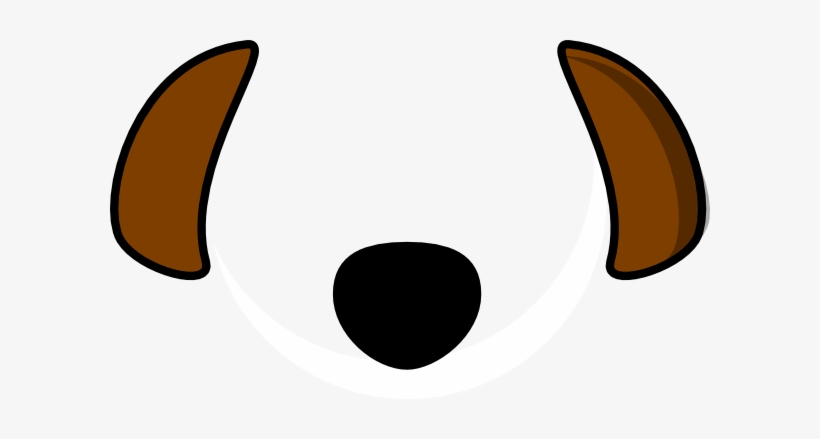 28 Collection Of Dog Ears Clipart.
