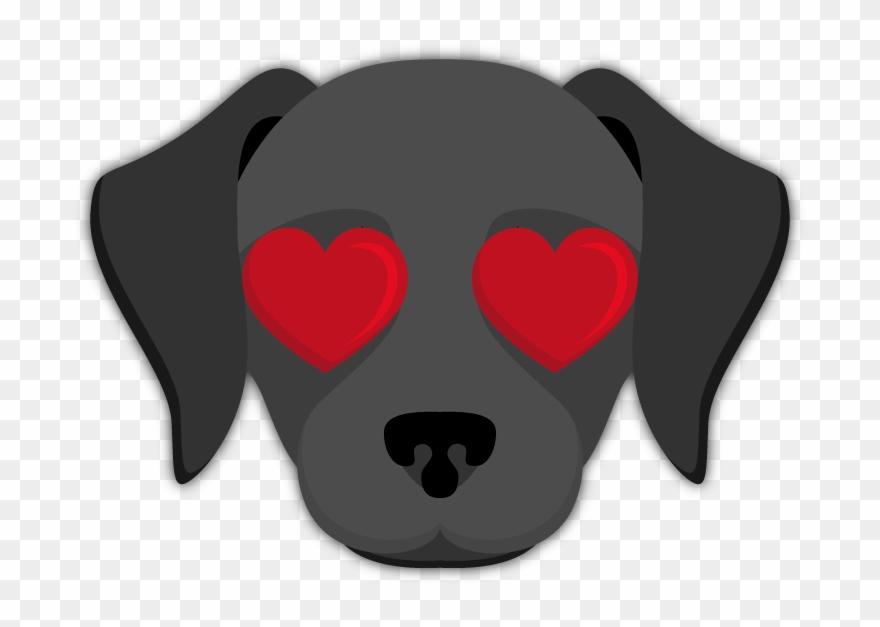 Black Labrador Emoji.