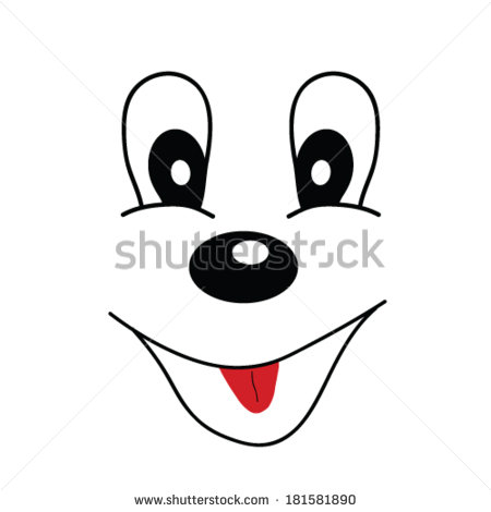 Dog With Big Eyes Clipart