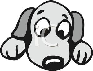 Puppy Dog Eyes Clipart.