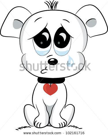 Sad Puppy Eyes Clipart.