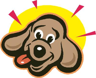 Dog Face Clipart.