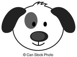Dog Face Clip Art.