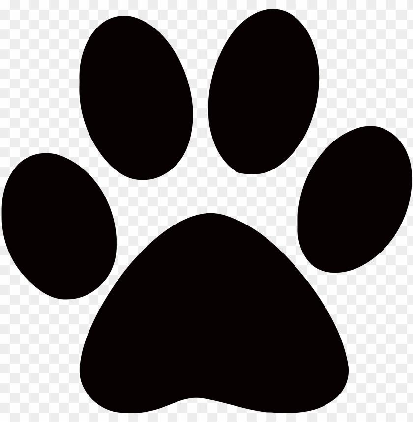 footprints clipart cougar.