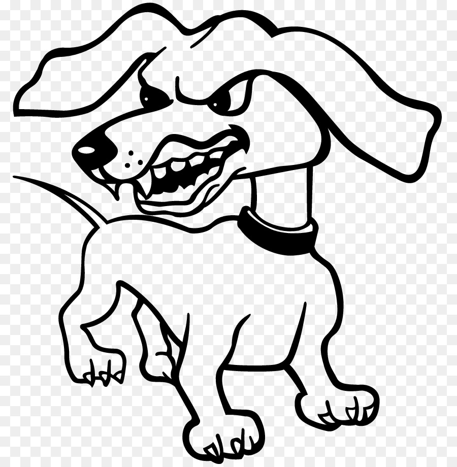 Bulldog Drawing png download.