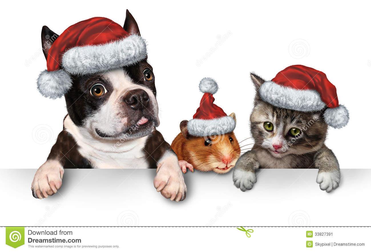 Christmas Pet Clipart.