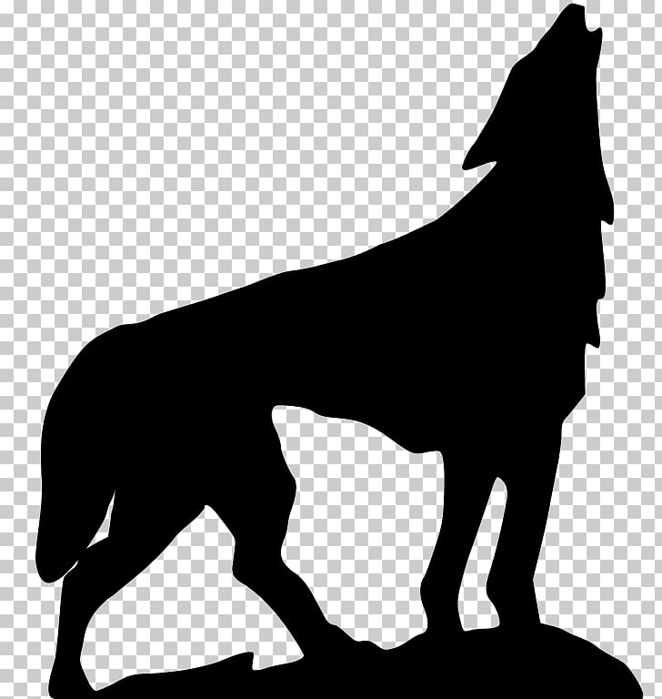 Dog , howling PNG clipart.
