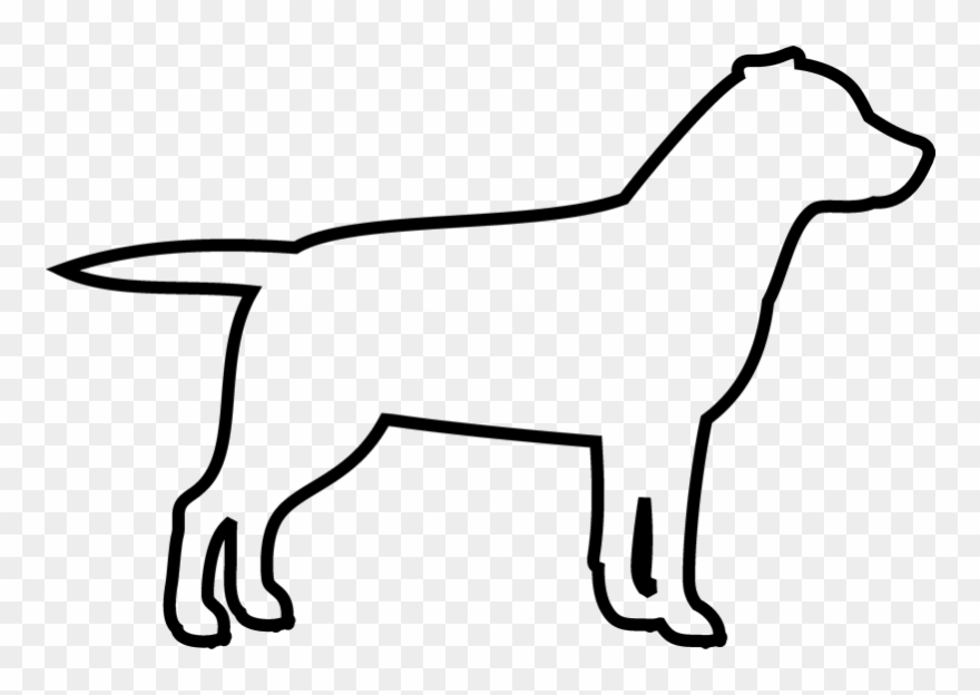 Dog Outline Png.