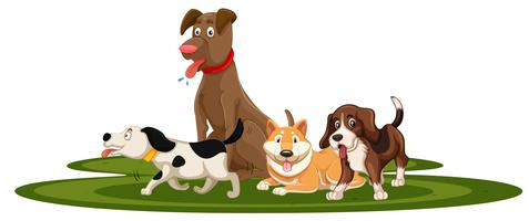 Dog Clipart Free Vector Art.
