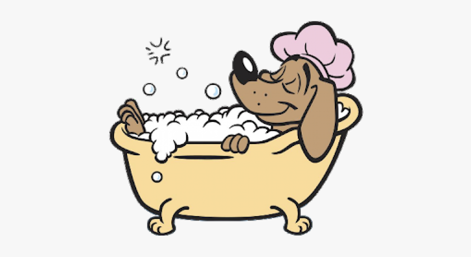 Dog In Bathtub Clipart, Cliparts & Cartoons.