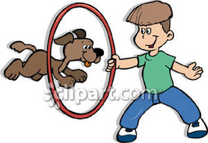 44737 Dog free clipart.