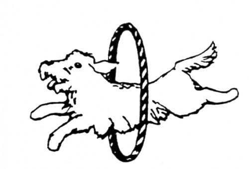 Dog Hoop Clipart.