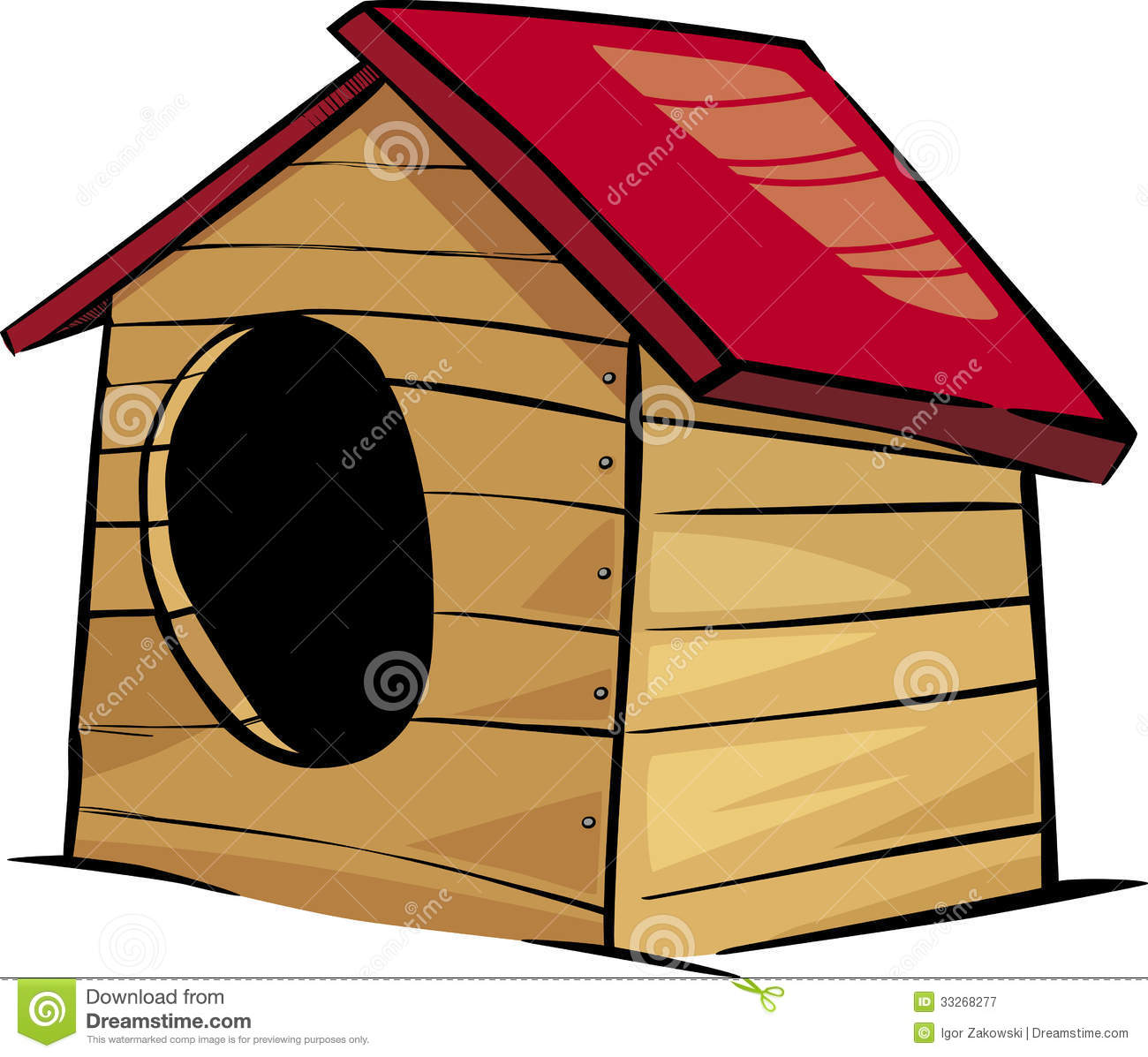 Doghouse Clipart.