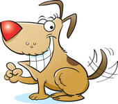Laughing dog clipart 4 » Clipart Station.
