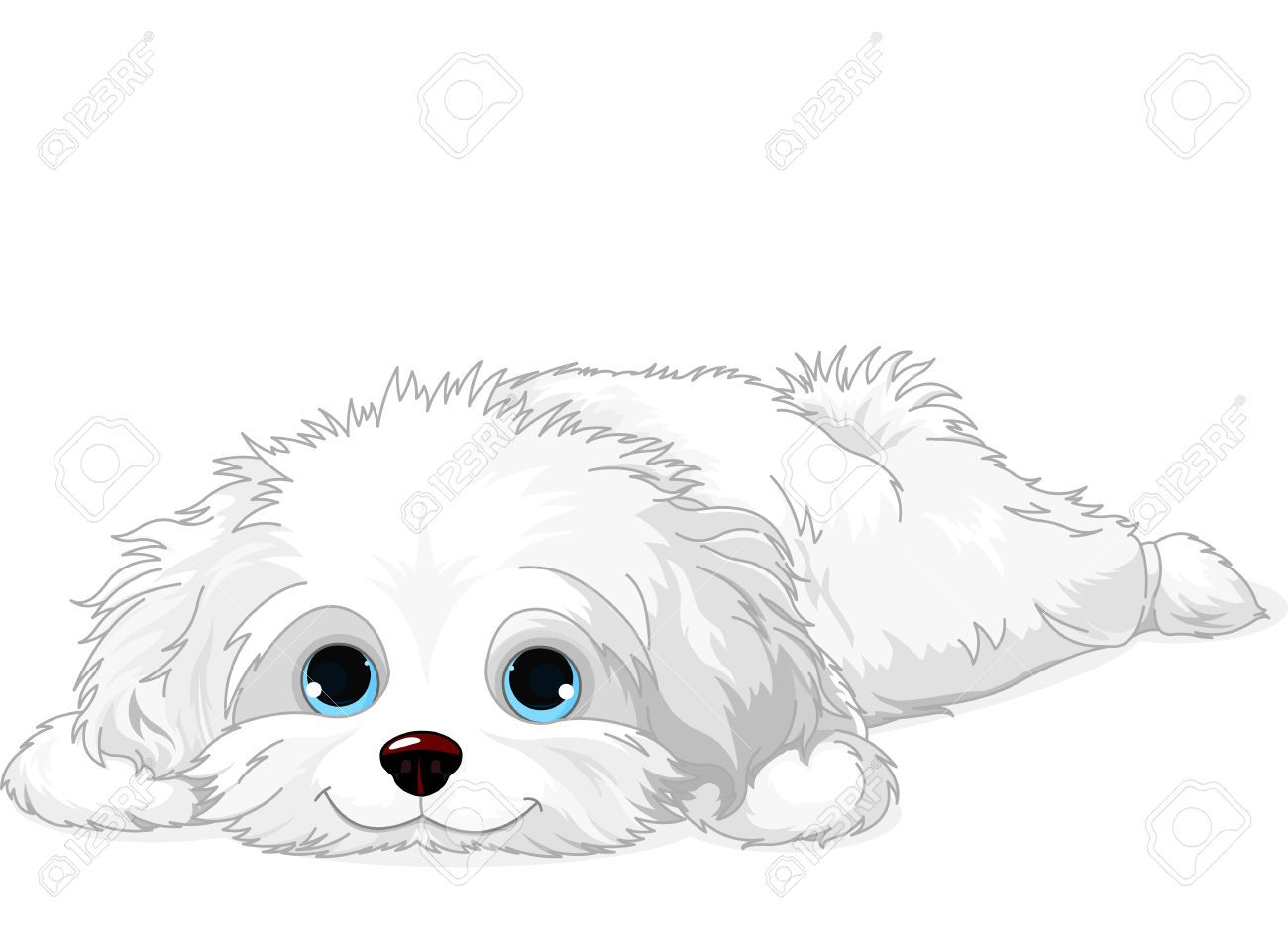 Dog Laying Down Clipart (57+).